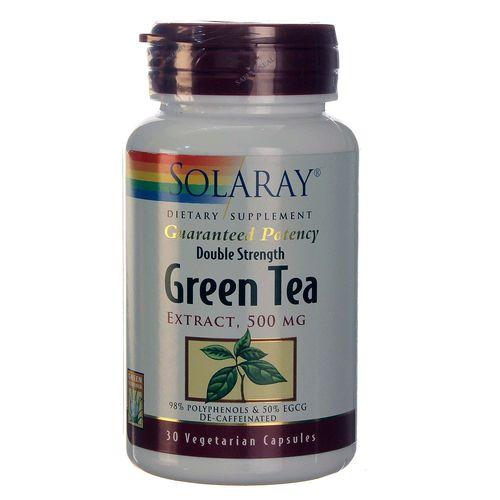 Solaray Green Tea Double Strength - 30 VCapsules ...