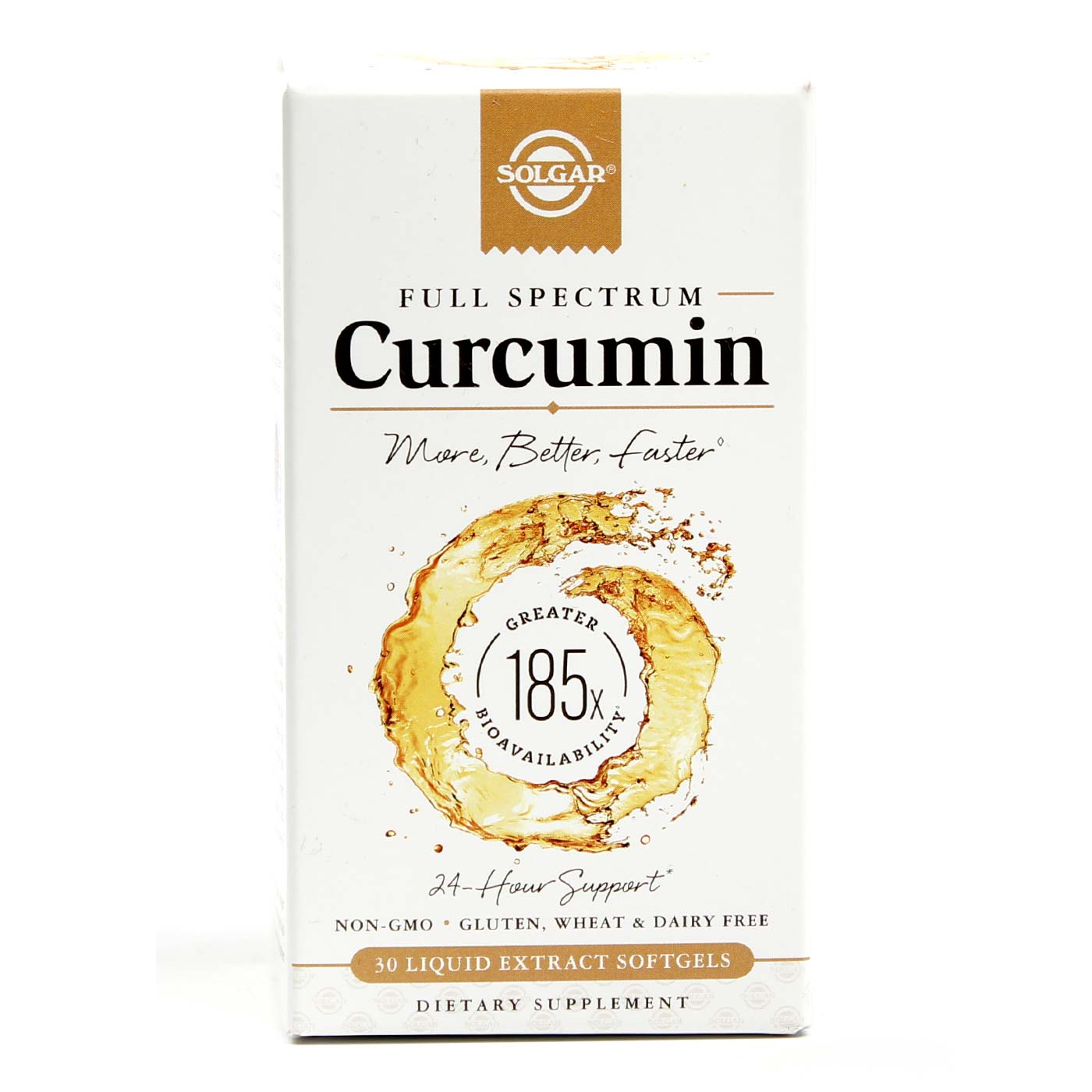 solgar full spectrum curcumin   30 liquid extract softgels   evitamins