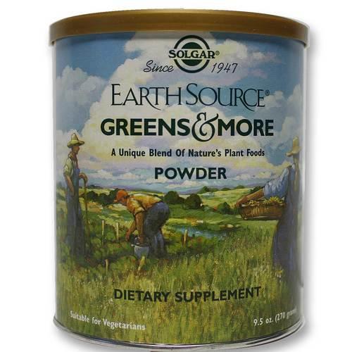 Earth Source Greens & More Powder