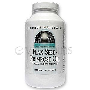 Flax Seed-Primrose Oil 1,300 mg