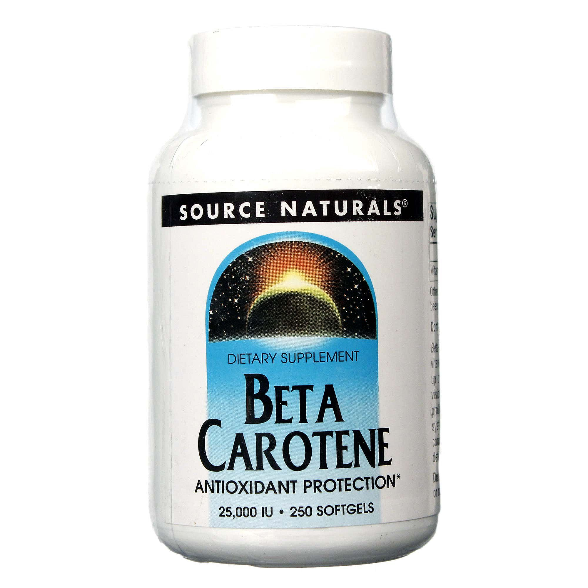 Beta carotene source