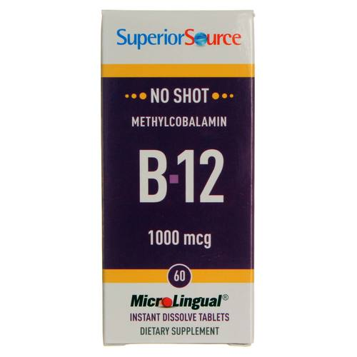 No Shot 1,000 mcg Methyl B12