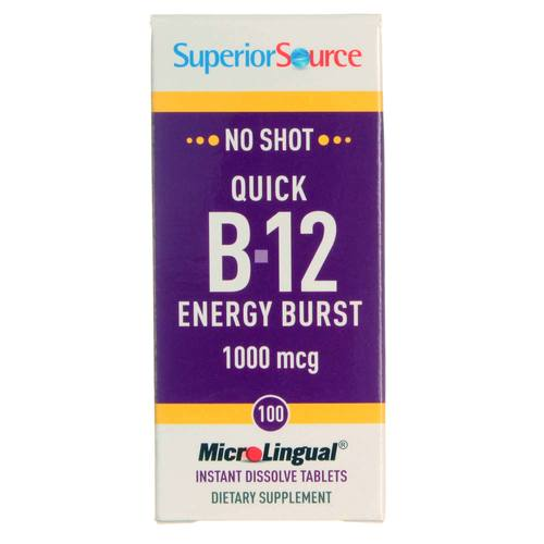 Quick B12 Energy Burst