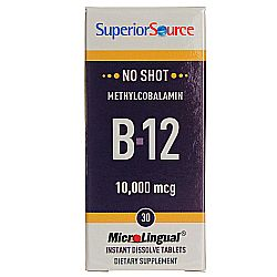 No Shot 10,000 mcg Methyl B12
