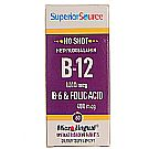Superior Source No Shot 1,000 mcg Methyl B12, B6 and Folic Acid 400