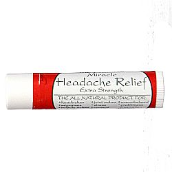 Tate's The Natural Miracle Headache Relief Extra Strength