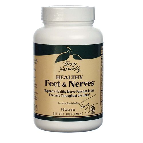 Terry Naturally Healthy Feet And Nerves 60 Vcapsules