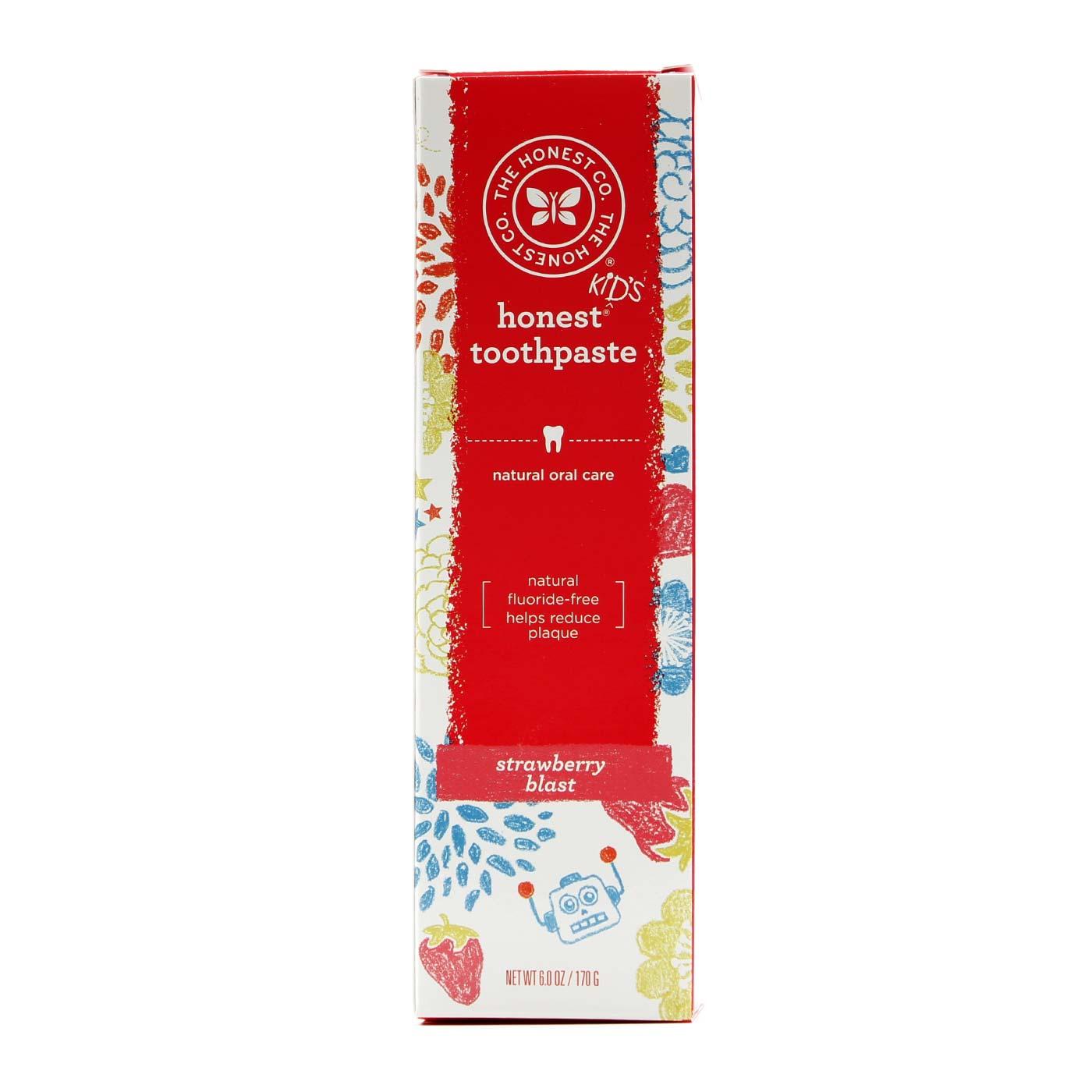 The Honest Company Kid S Honest Toothpaste
