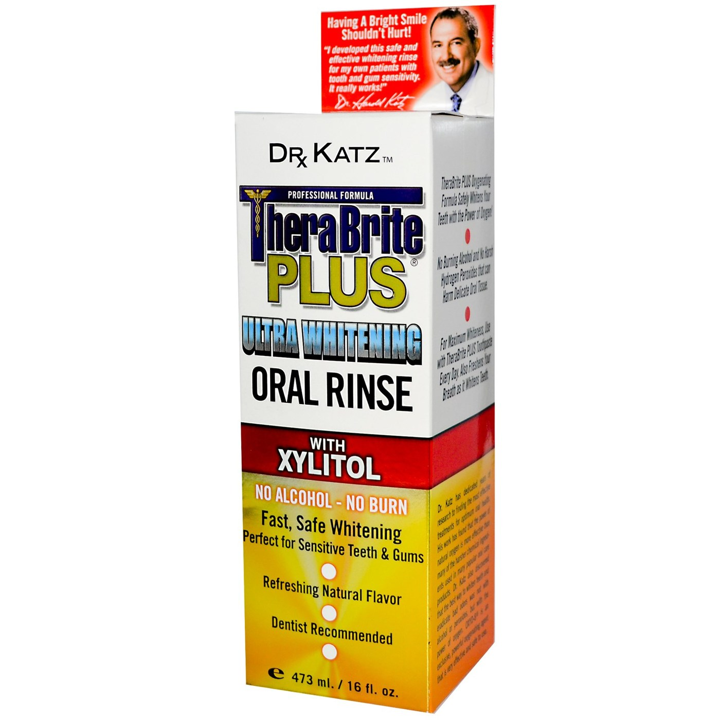 Use this refreshing Oral Rinse after brushing with TheraBreath Toothpaste. The rinse uses the odour-obliterating power of OXYD-8 to fight bad breath and sour/bitter/metallic tastes. Brand Description. THERABREATH. Model. Size. ml.