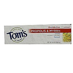 Tom's of Maine Natural Antiplaque, Propolis and Myrrh Toothpaste
