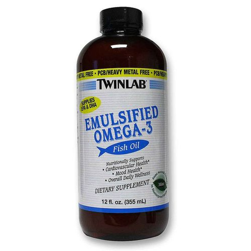 Twinlab emulsified omega 3 fish oil 12 oz for Dr oz fish oil