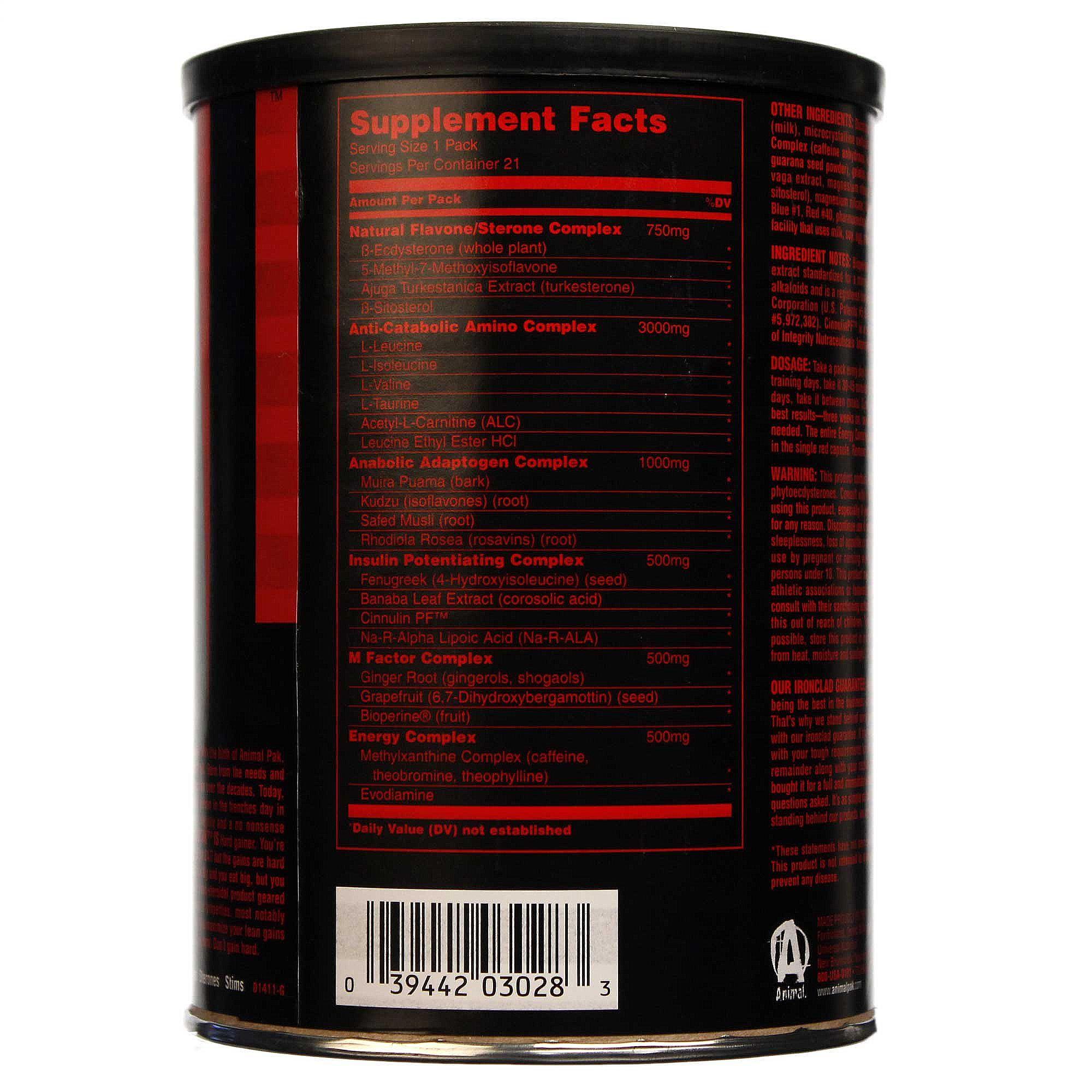 Universal Nutrition Animal Stak Universal Nutrition Animal m