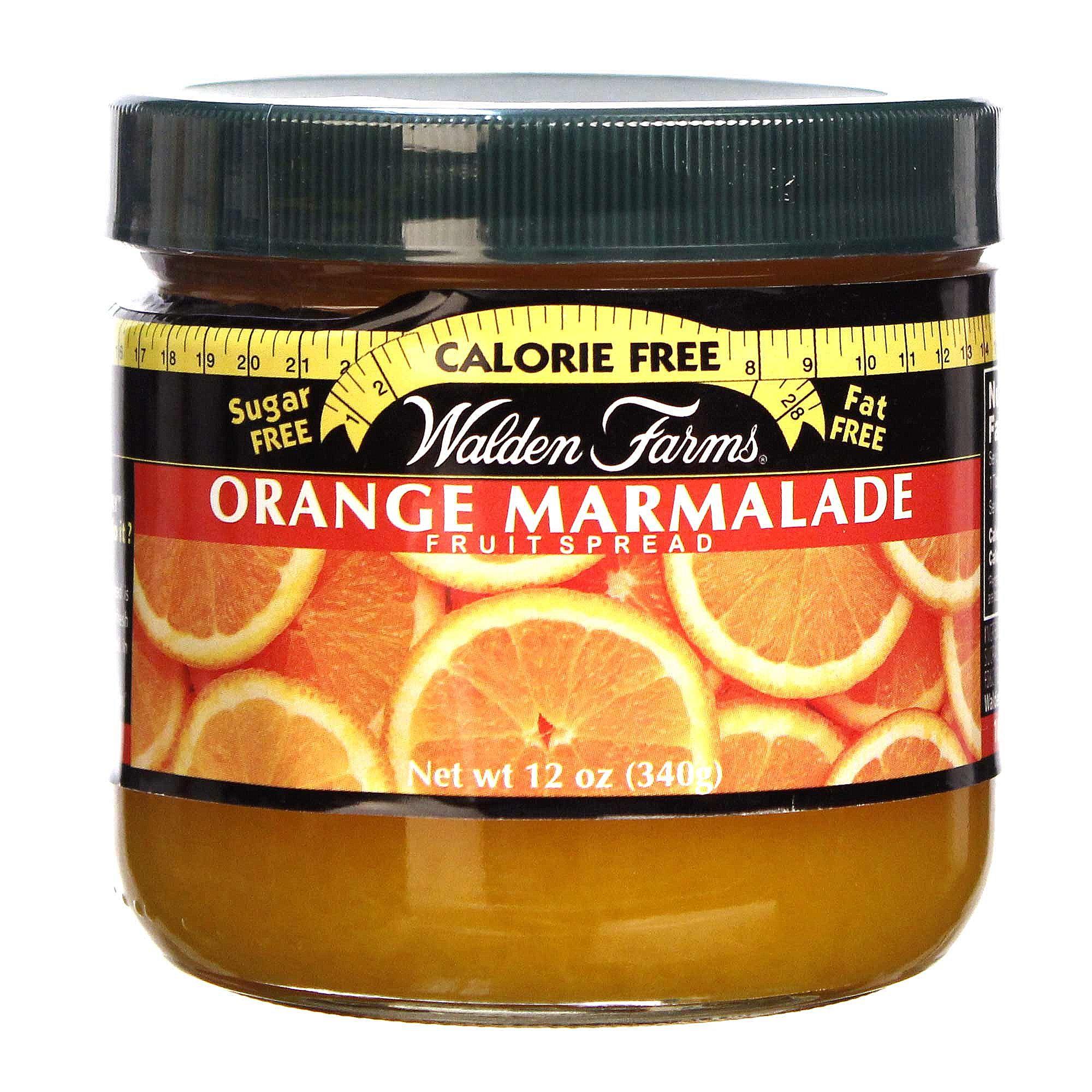 walden farms orange marmalade fruit spread 12 oz. Black Bedroom Furniture Sets. Home Design Ideas