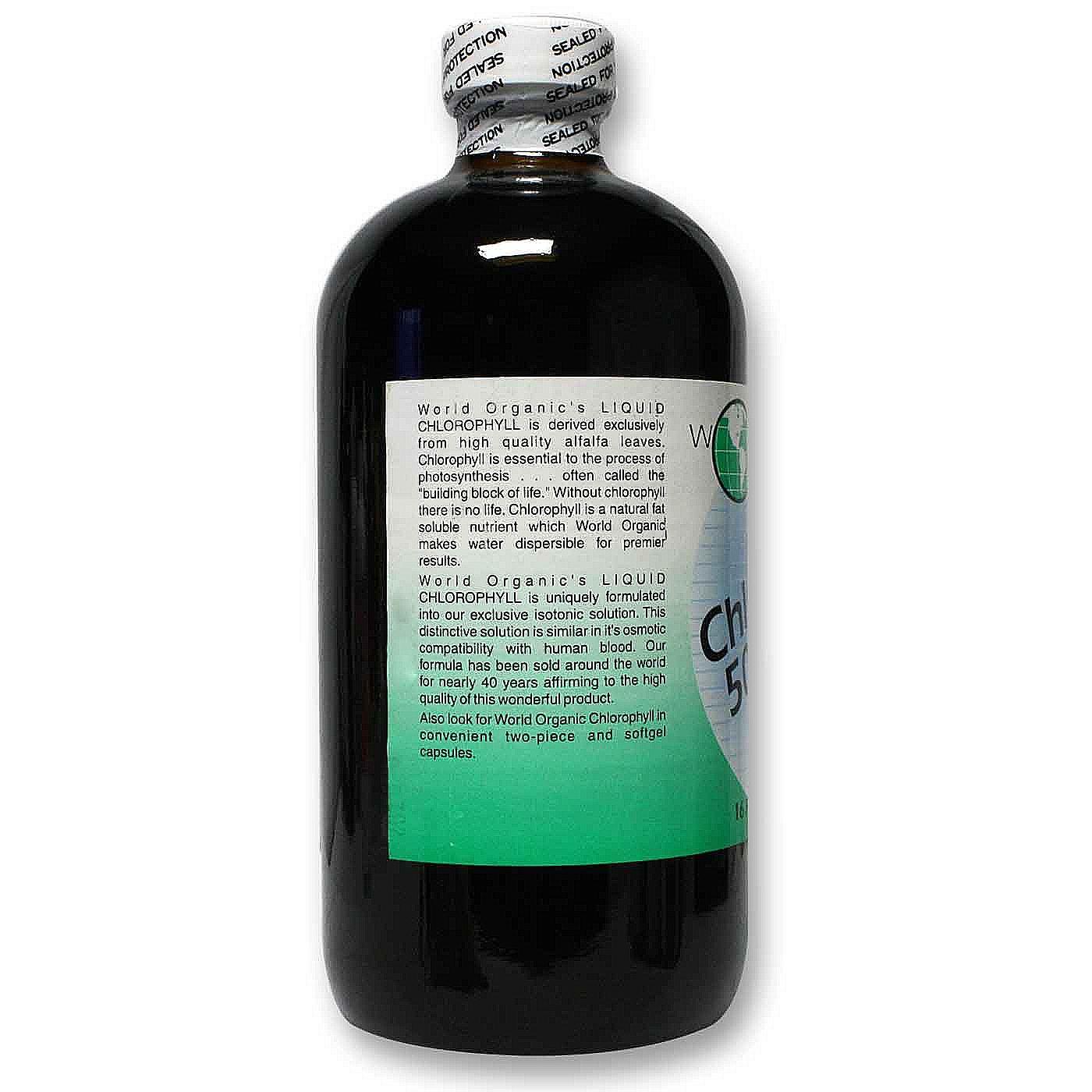 Is chlorophyll organic