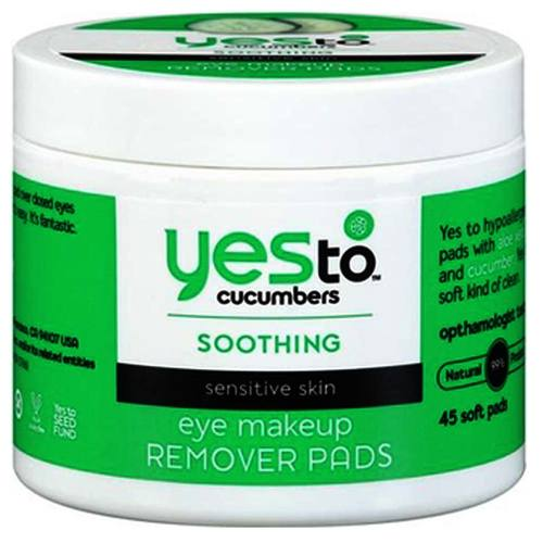 Eye makeup remover for sensitive skin