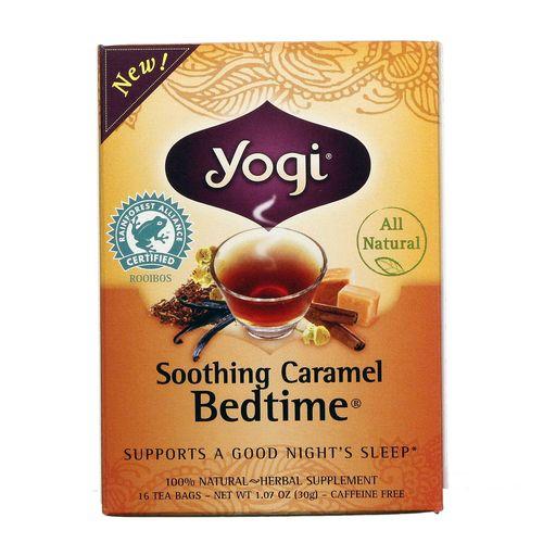 Yogi Tea Organic Teas Soothing Caramel Bedtime Tea 16