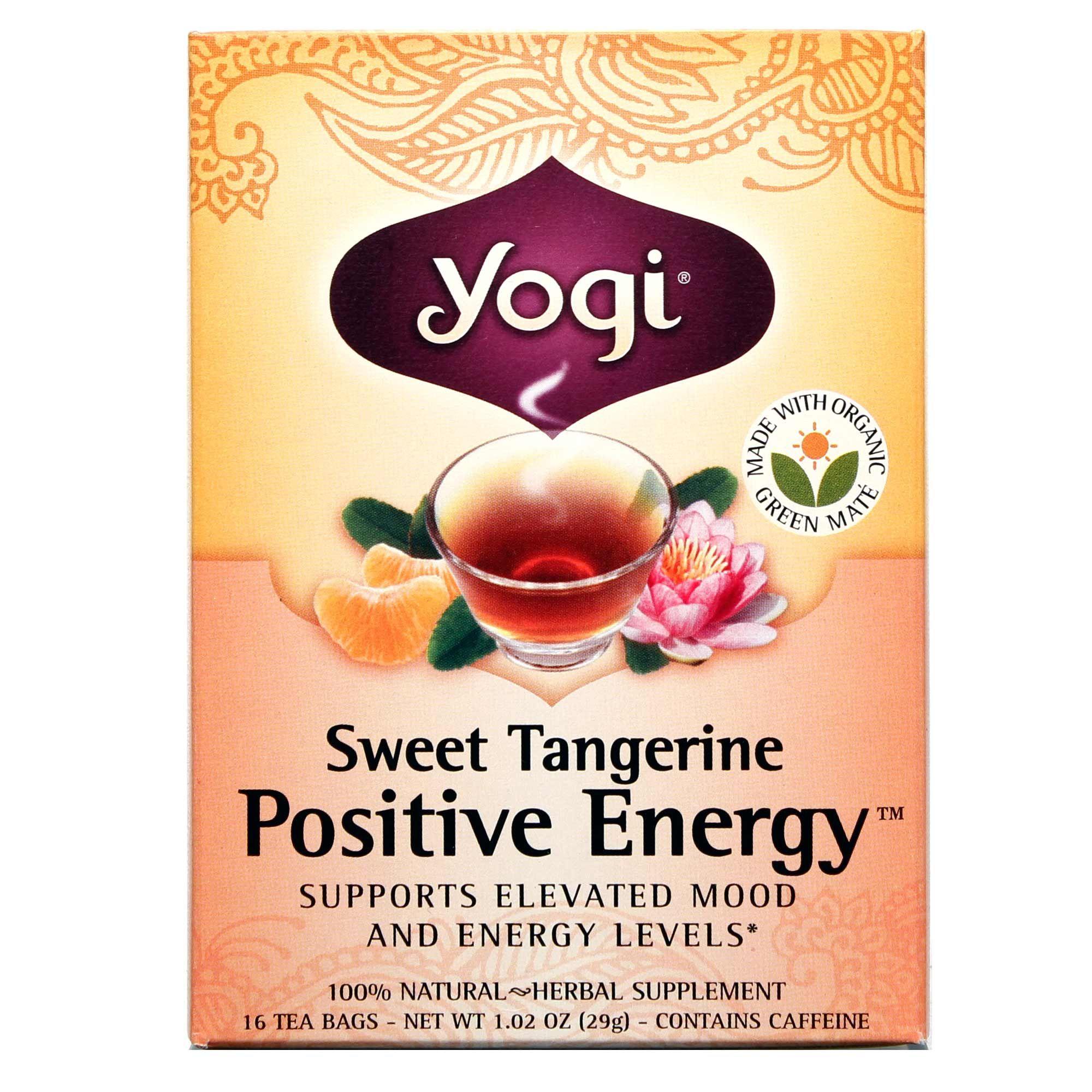 Yogi Tea Organic Teas Blend Perfect Energy Sweet