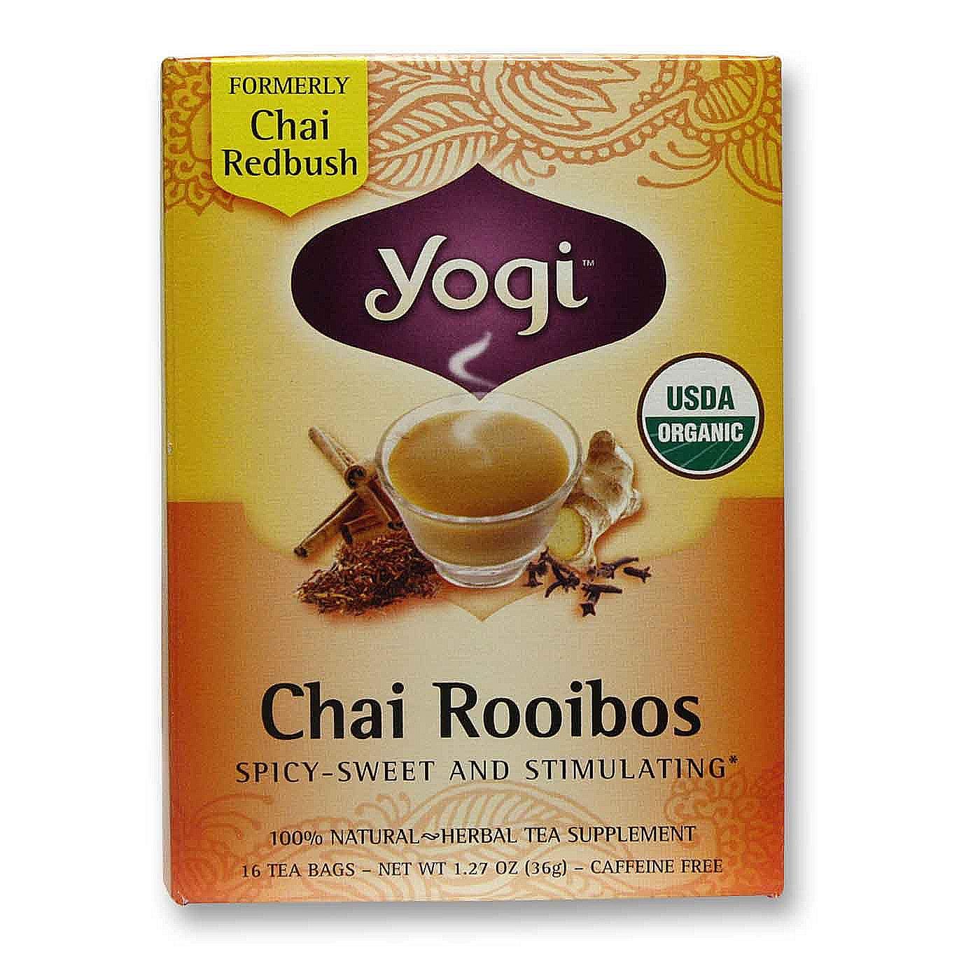 eVitamins.com: Yogi Tea Organic Teas Chai Rooibos - 16 Bags