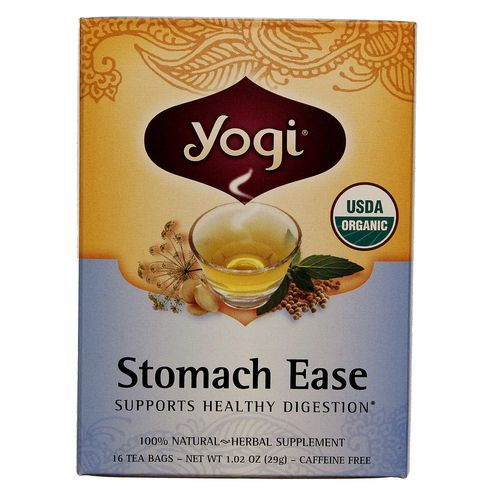 Evitamins Com Yogi Tea Organic Teas Stomach Ease Organic