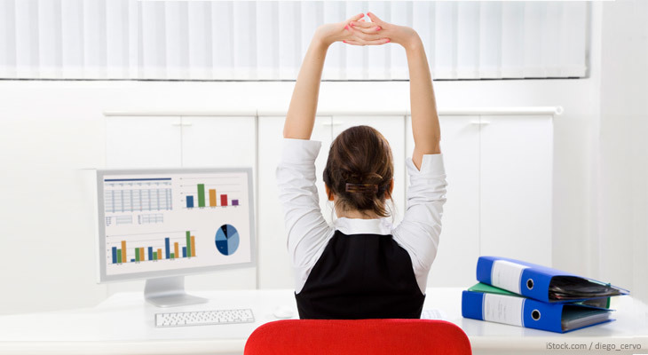Just because you are stuck at work all day does not mean you have to skip your daily workout. In this post, learn how to train your entire body at your desk.