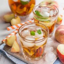Peach and thyme come together to make a combination that's not only delicious but great for your health!