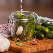 Pickles and fermented foods are high in healthy bacteria count and can encourage healthy regular digestion patterns and better immune system response.
