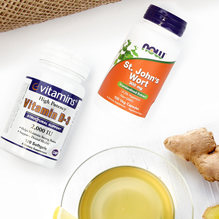 Try herbal supplements to treat SAD symptoms during winter or summer seasons.