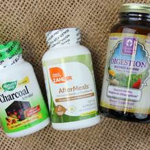 Try probiotic and fiber supplements to aid digestion and decrease bloating and gas discomfort.