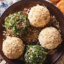 Enjoy these fat free cheese balls guilt free!