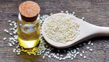 Get Healthy with Sesame Oil