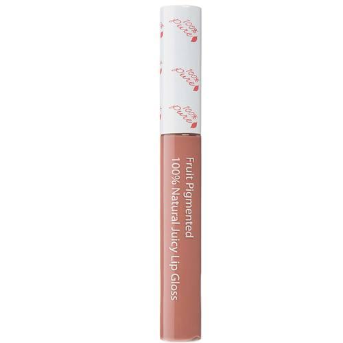 100 Percent Pure Lip Gloss, Розовая карамель - 0.24 oz