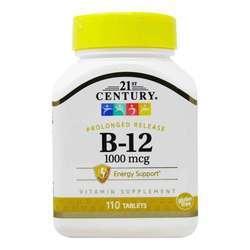 21st Century B-12 1000 mcg