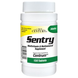 21st Century Sentry Multivitamin  Multimineral Supplement