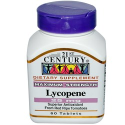 21st Century Maximum Strength Lycopene
