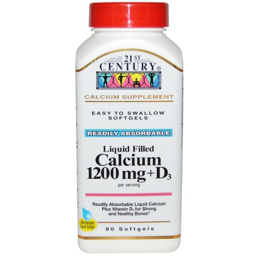 Liquid Filled Calcium 1200 mg + D3