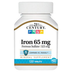 21st Century Iron 65 mg
