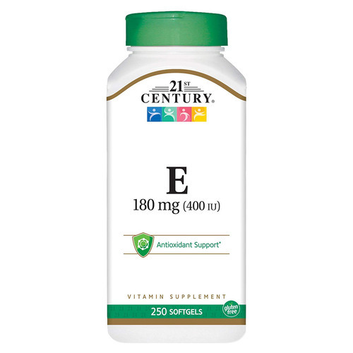 21st Century Vitamin E - 180 mg - 250 Softgels - 278483_front.jpg