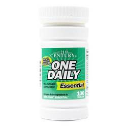 21st Century One Daily Essential Multivitamin