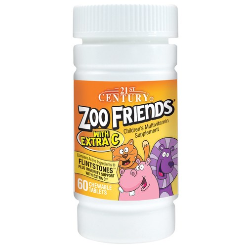Zoo Friends with Extra C