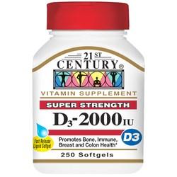 21st Century D3-2000 IU