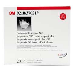 3M 9210 Particulate Respirator N95- Flu Mask