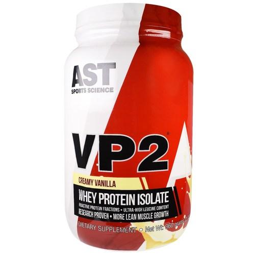 3c556c5bb VP2 Whey Creamy AST Sports Science Vanilla 2 lbs - Menor Preço em Brasil