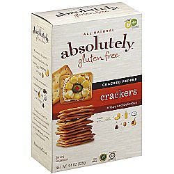 Absolutely Gluten Free Crackers (6 Pack)