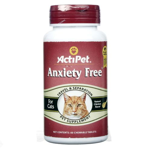 Anxiety Free For Cats