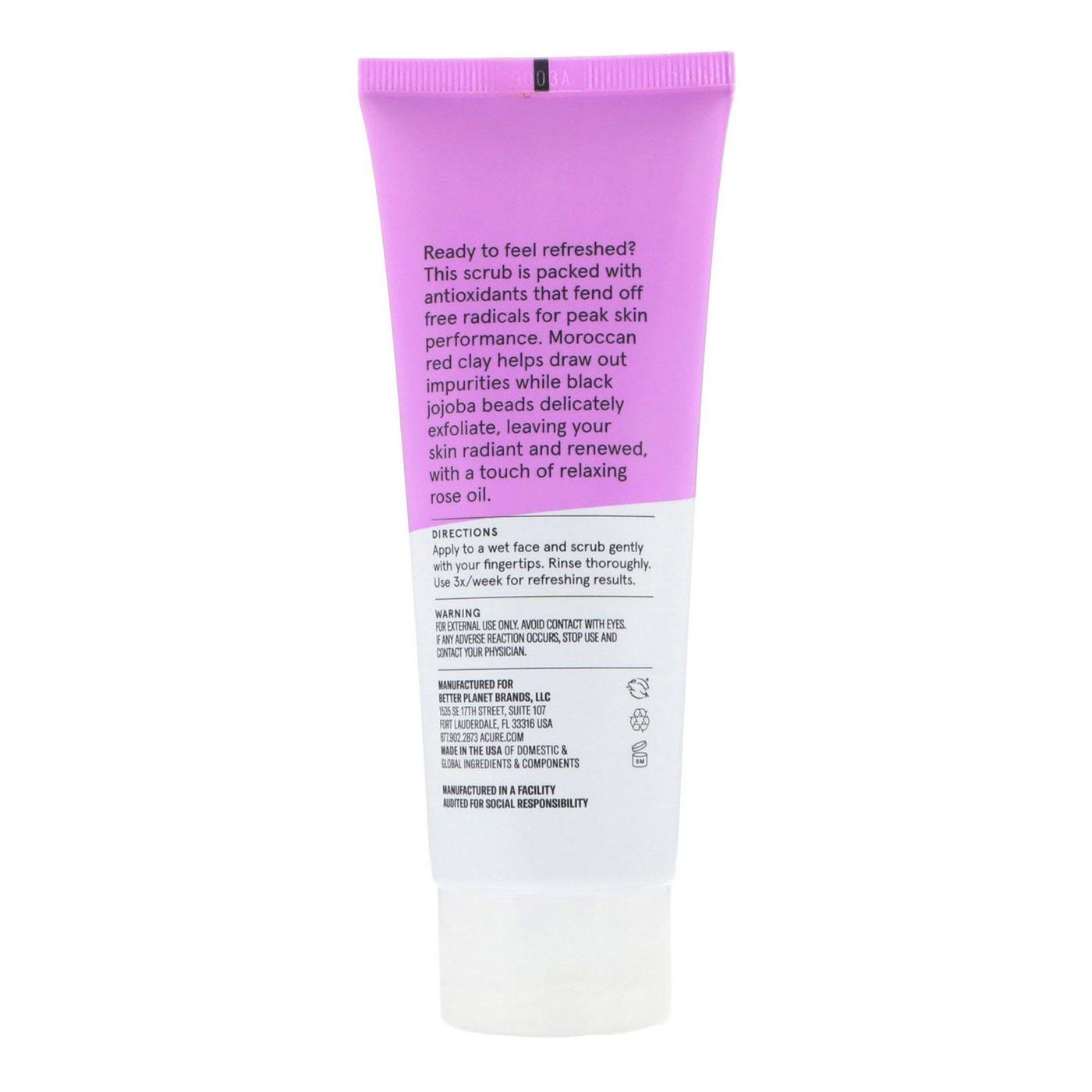 Acure Pore Minimizing Facial Scrub