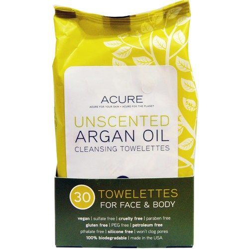 Unscented Argan Oil Towelettes