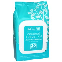 Acure Organics Coconut and Argan Oil Towelettes