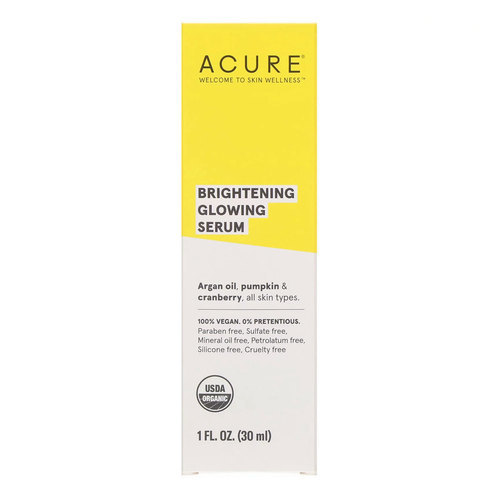 Acure Organics Seriously Glowing Facial Serum  - 1 fl oz (30 ml) - 110746_front.jpg