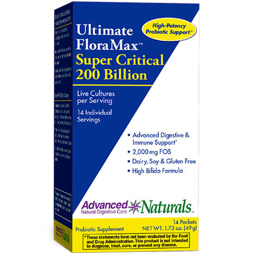 Ultimate FloraMax Super Critical 200 Billion Sticks