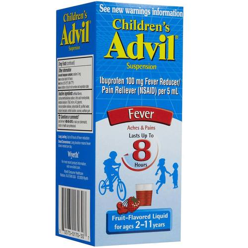 Children's Liquid Fever Reducer and Pain Reliever